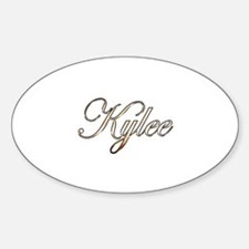 Gold Kylee Decal