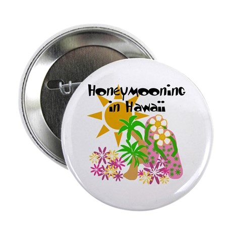 "Honeymoon Hawaii 2.25"" Button (100 pack)"