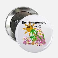 Honeymoon Hawaii Button