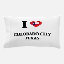 I love Colorado City Texas Pillow Case
