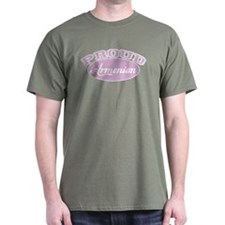 Proud Armenian (pink) T-Shirt