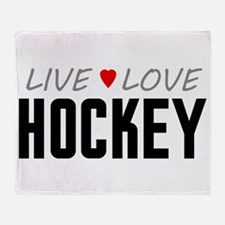 Live Love Hockey Stadium Blanket