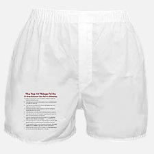 Sidekick Top 10! Boxer Shorts