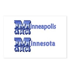Minneapolis MN Postcards (Package of 8)