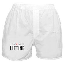 Live Love Lifting Boxer Shorts