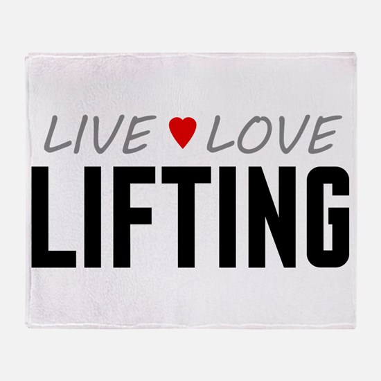 Live Love Lifting Stadium Blanket