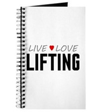 Live Love Lifting Journal