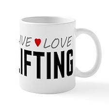 Live Love Lifting Mug