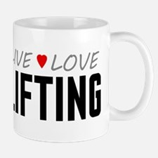 Live Love Lifting Mug