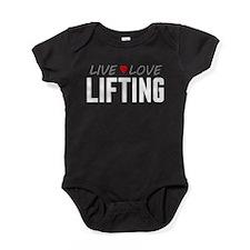 Live Love Lifting Baby Bodysuit