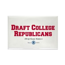 Draft College Republicans! Rectangle Magnet