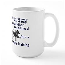 Portuguese Water Dog Agility Mug