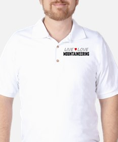 Live Love Mountaineering T-Shirt