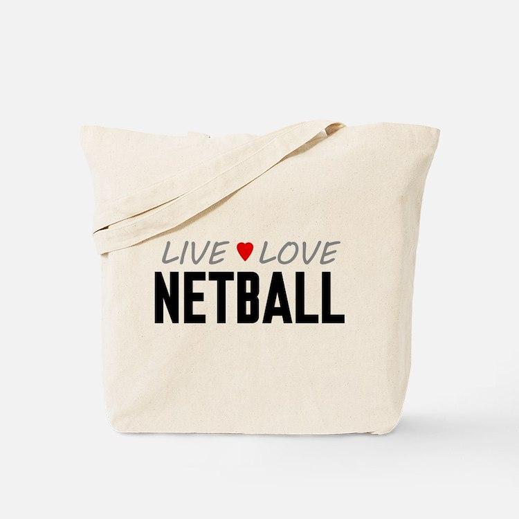 Live Love Netball Tote Bag