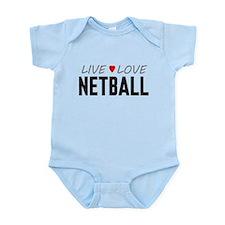 Live Love Netball Onesie