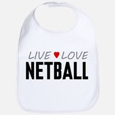 Live Love Netball Bib