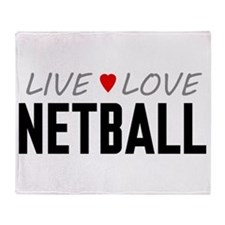 Live Love Netball Stadium Blanket