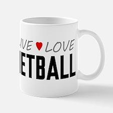 Live Love Netball Mug