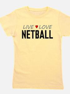 Live Love Netball Girl's Tee