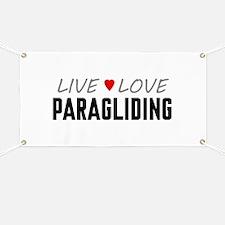 Live Love Paragliding Banner
