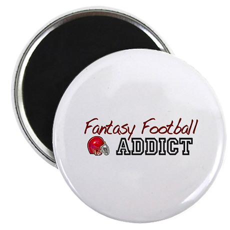 Fantasy Football Addict Magnet
