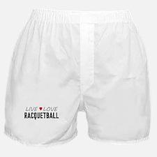 Live Love Racquetball Boxer Shorts