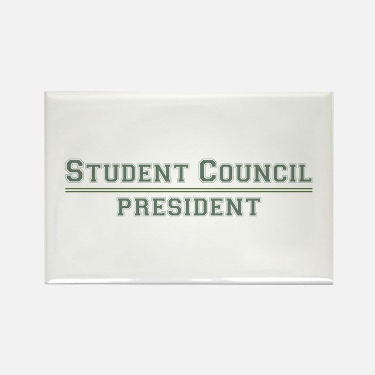 Student Council President Rectangle Magnet