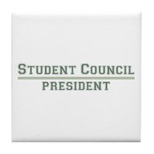 Student Council President Tile Coaster