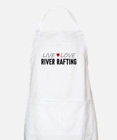 Live Love River Rafting Apron