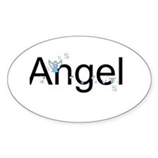 Personalizable Cute ANGEL Decal