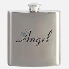 Personalizable Cute ANGEL Flask