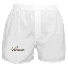 Gold Shaun Boxer Shorts