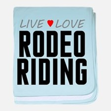 Live Love Rodeo Riding Infant Blanket