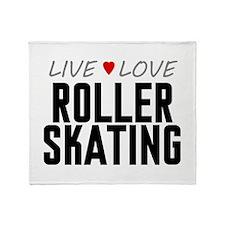 Live Love Roller Skating Stadium Blanket