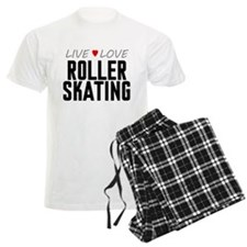 Live Love Roller Skating pajamas