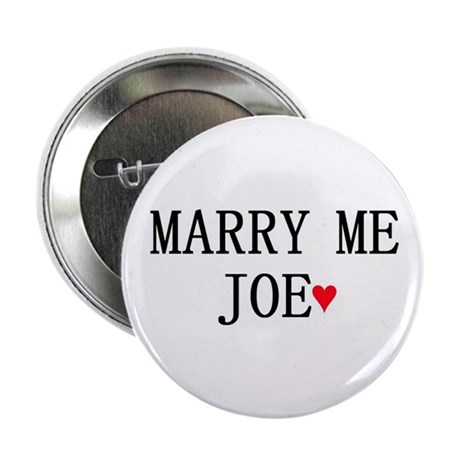 "Joe Jonas ""MARRY ME"" pin!"