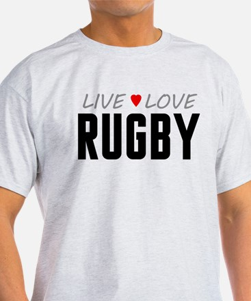 Live Love Rugby T-Shirt