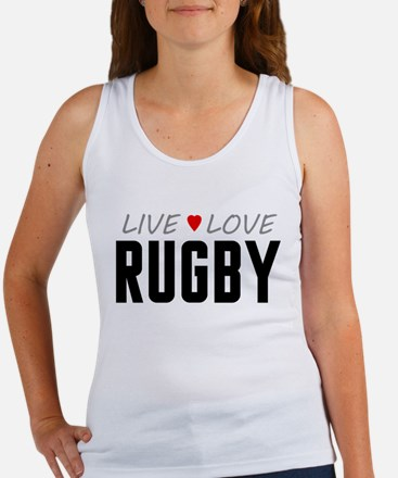 Live Love Rugby Women's Tank Top