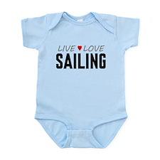 Live Love Sailing Infant Bodysuit