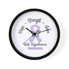 Rett Syndrome Wall Clock
