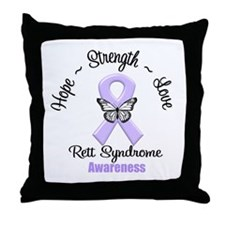 Rett Syndrome Throw Pillow