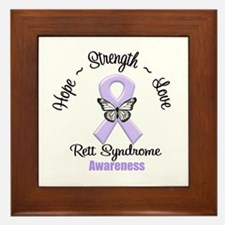 Rett Syndrome Framed Tile