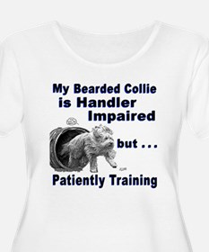 Bearded Collie Agility T-Shirt