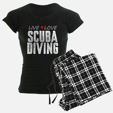 Live Love Scuba Diving Pajamas