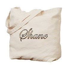 Gold Shane Tote Bag