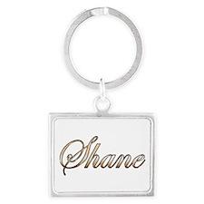 Gold Shane Keychains