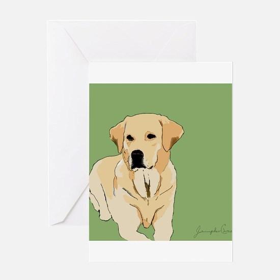 The Artsy Dog Lab Series Greeting Card