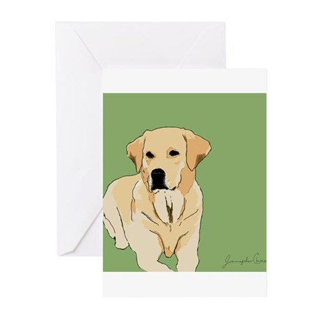 The Artsy Dog Lab Series Greeting Cards (Pk of 20)