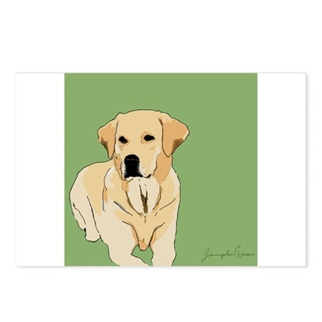 The Artsy Dog Lab Series Postcards (Package of 8)