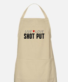 Live Love Shot Put Apron